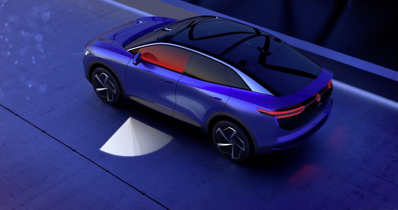 Licht Alarm Auto : Vw präsentiert ideen zur kommunikation über die fahrzeugbeleuchtung