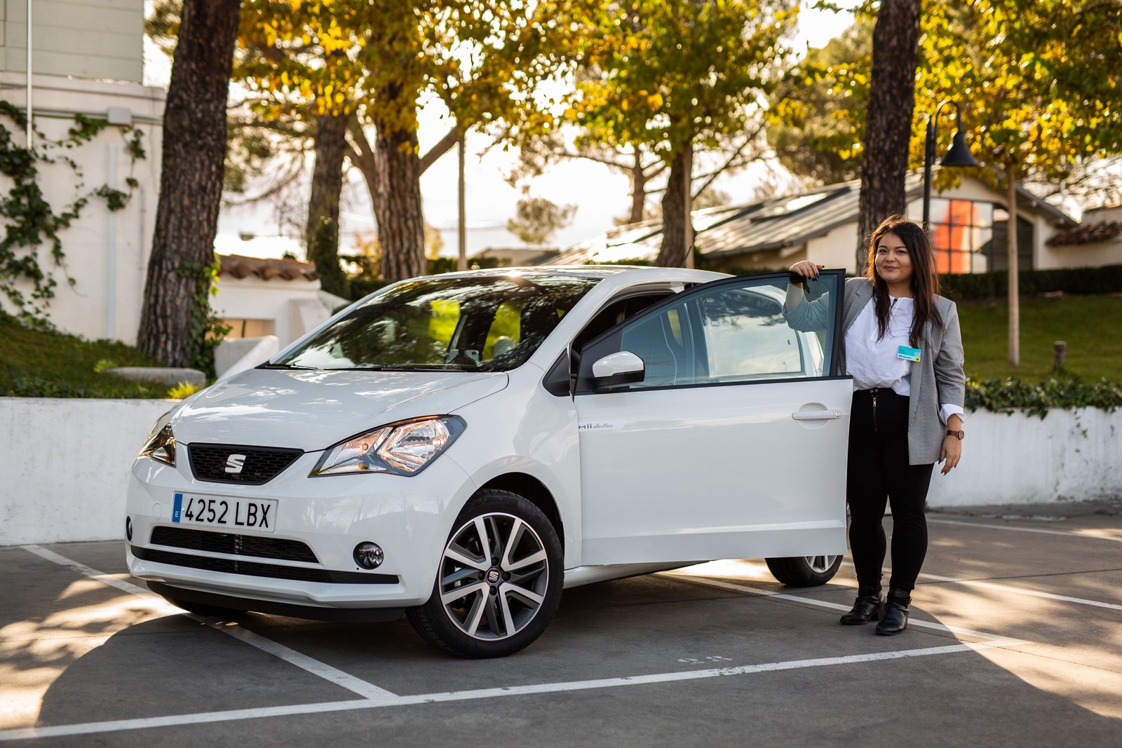 bfp fuhrpark & management war in Madrid, um den Seat Mii Electric ausgiebig zu testen.
