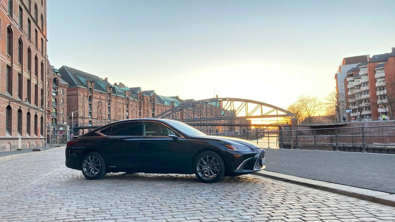 Lexus ES 300h: Selten, aber beachtenswert