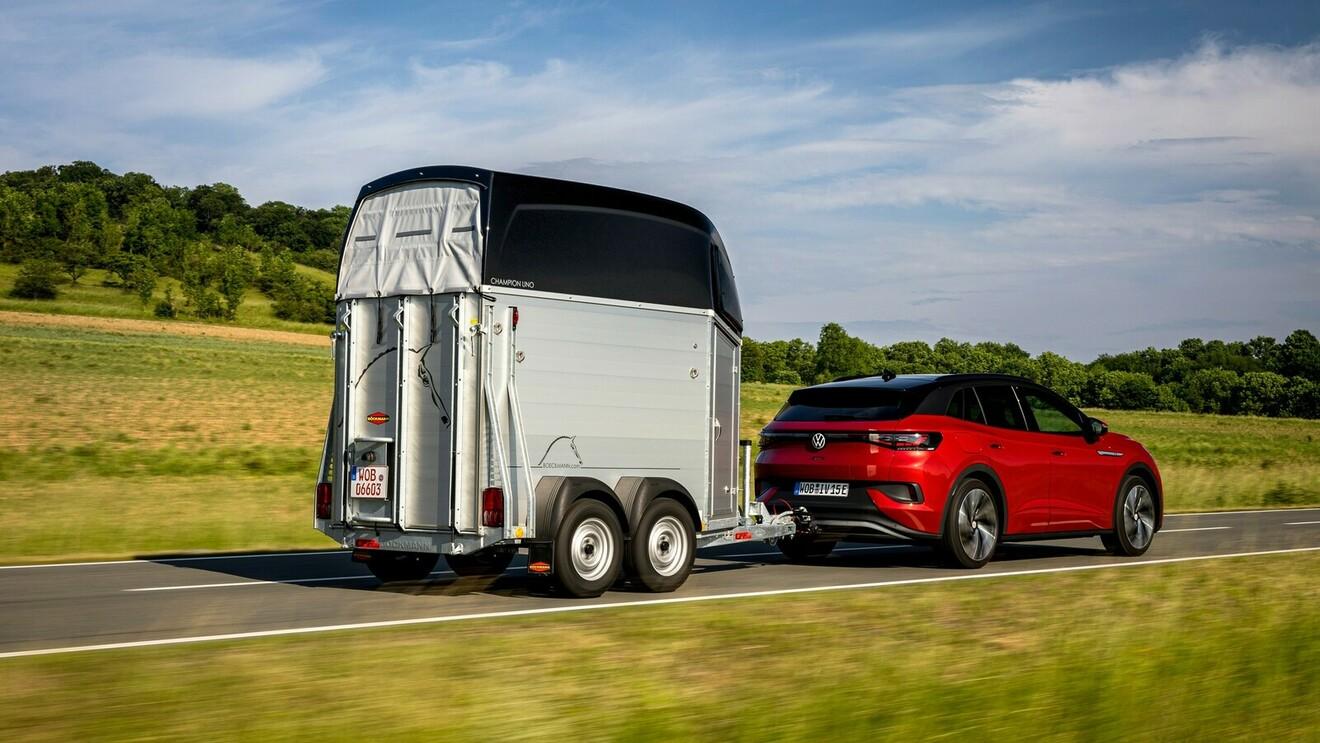 E-Autos und Anhänger: Strom zieht