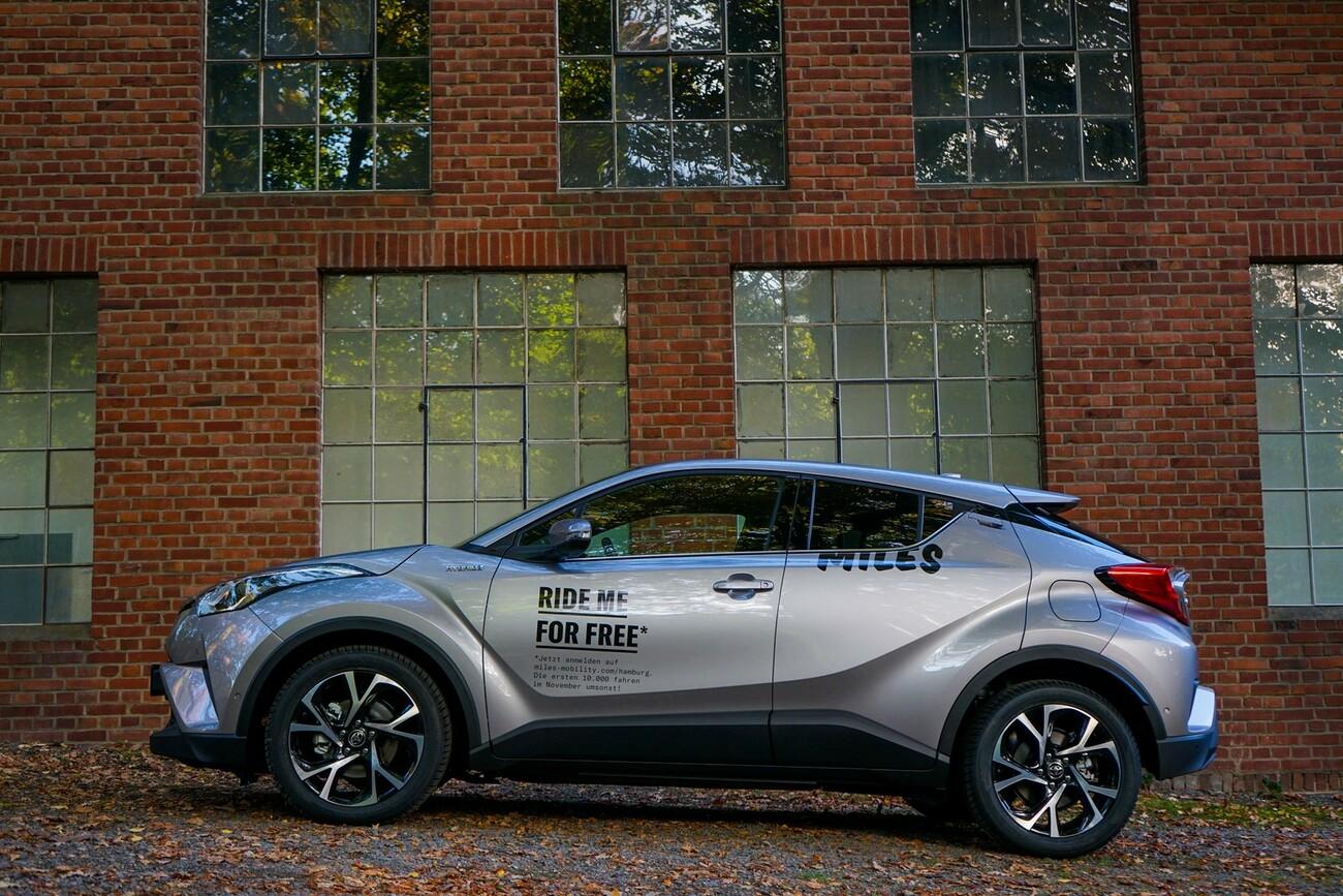 miles mobility das neue carsharing unternehmen bietet abrechnung nach kilometern nicht nach. Black Bedroom Furniture Sets. Home Design Ideas