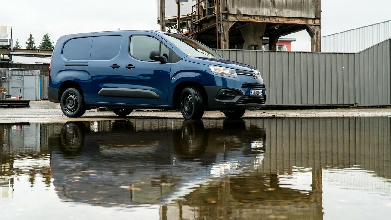 Kompaktes Kraftpaket: der Toyota Proace City
