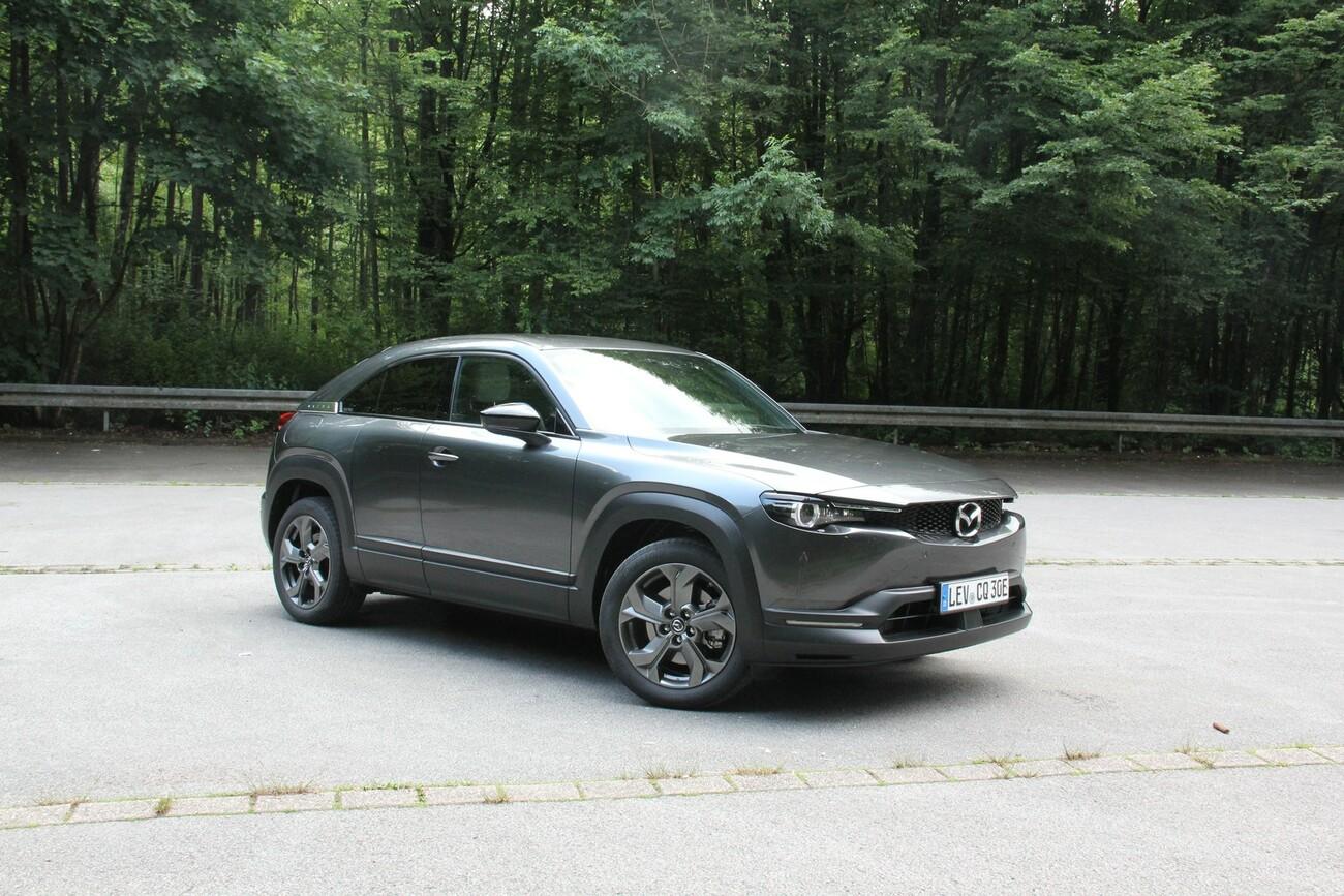 Erstmals elektrisch: Unterwegs im Mazda MX-30