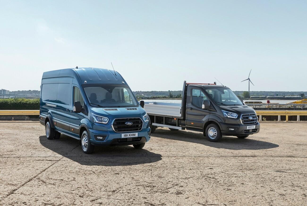 Ford Transit jetzt auch als 5-Tonner