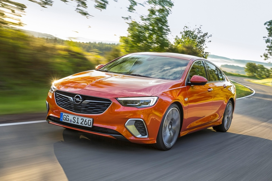 Opel Insignia GSi dynamisch Front