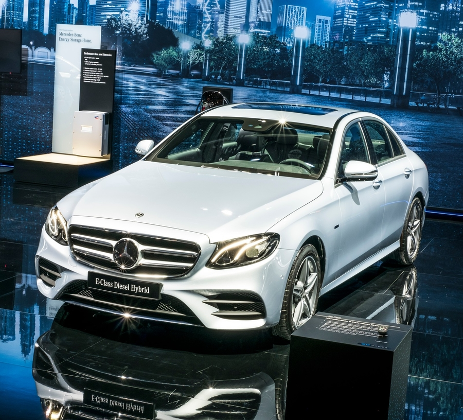 Mercedes E-Klasse in Genf (2018)